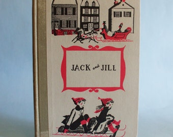 Jack And Jill by Lousia May Alcott 1956 Junior Delux Editions Classics