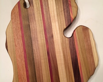 State of Michigan cutting board
