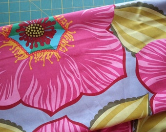 1 Yard Garden Party Guest of Honor in Rose by Anna Maria Horner for Free Spirit, OOP and VHTF