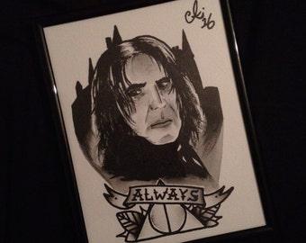 Severus Snape Print.