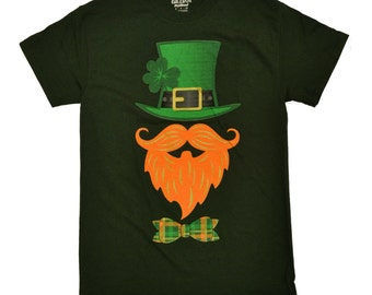 Tees2urdoor Green St. Patrick's Day Leprechaun T-Shirt