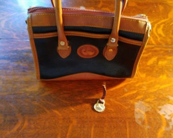 Vintage dooney  bourke satchel handbag for restoration 5x10x8