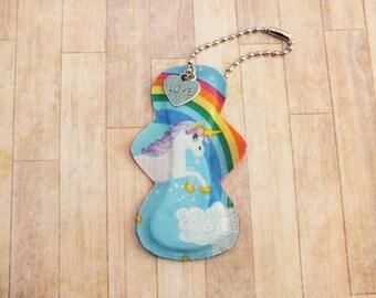 Unicorn Pad Keychain/Zipper Pull