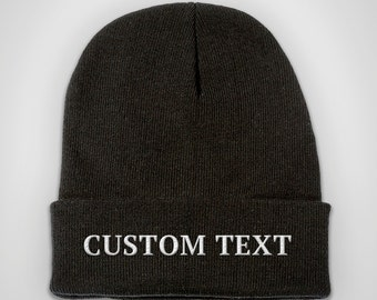 Custom Embroidered Beanie