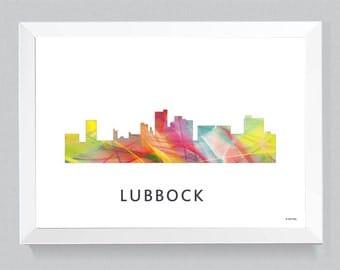 Lubbock Texas Skyline WB1