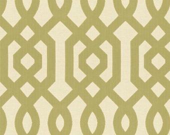 KRAVET LEE JOFA Chinoiserie Scrollworks Jacquard Upholstery Fabric 10 Yards Green