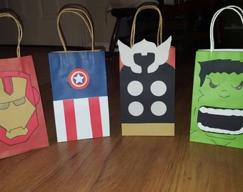 12 Party Favor Bags