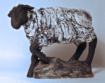 Sheep- Original Ceramic Sculpture