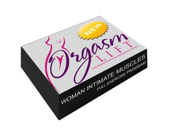 Orgasm Lift Program - Deluxe Set - 8 Lessons included + 3 Yoni Eggs + 10 ml Yoni Nectar + Perineometer