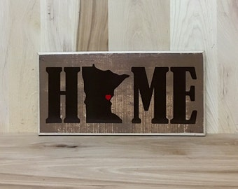 Personalized sign, home custom wood sign, personalized gift, gift for her, new home gift, new home sign, new home housewarming gift