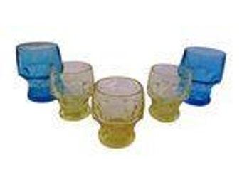 Midcentury Viking Glasses - Set of 5