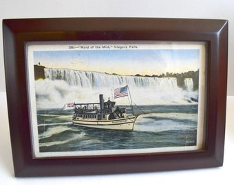 Niagara Falls Vintage Framed Post Card