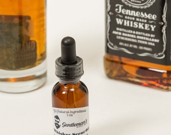 Beard Oil Whiskey Scent 1oz All Natural Ingredients