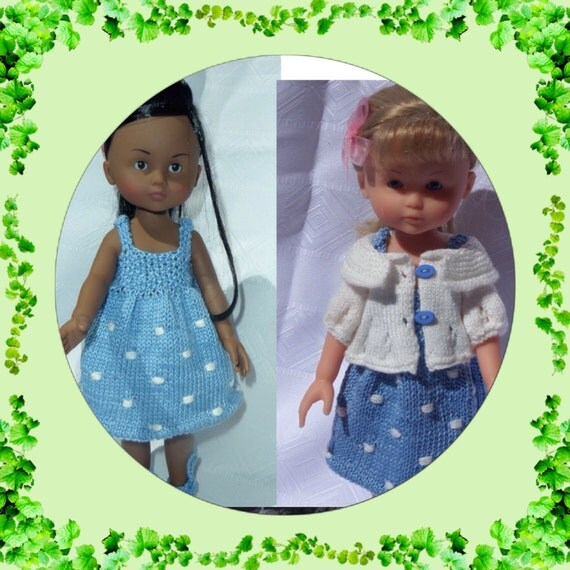 Knitting Pattern 13 Inch Doll : Knitting pattern pdf file for 13 inch dolls by DarceeKnitsForDolls