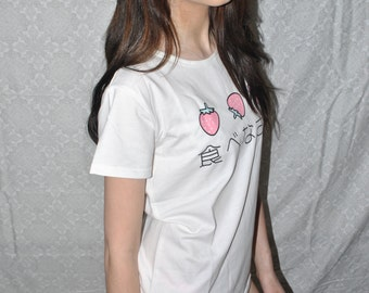 Kawaii Strawberry T-Shirt
