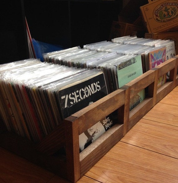 45 Rpm 7inch Record Storage Crate No More By