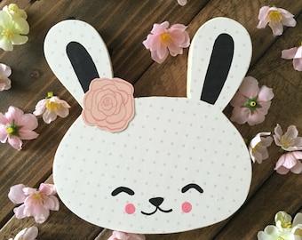 Cute Bunny Rabbit Nursery Art