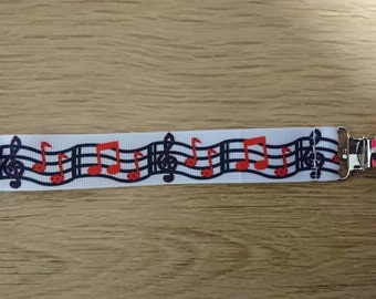 Music notes dummy clip