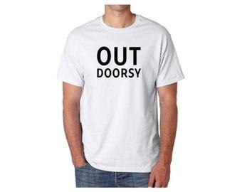 Outdoorsy shirt // Mens tshirt - Graphic tee - Fathers day shirt - Mens shirt - Mens gift - Outdoorsy gifts