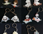 Undertale Pacifist/Genocide Acrylic Charms - Full Set