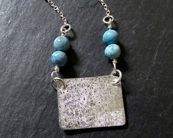 Personalised Sterling Silver Keepsake Landscape Photo Locket with Beads
