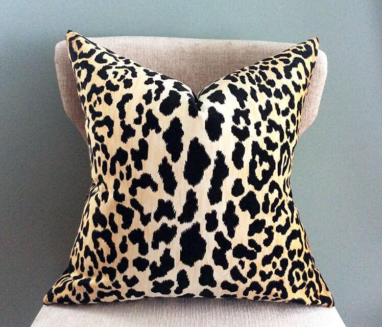 Throw Pillow Covers Velvet Pillow Leopard Pillow Cover