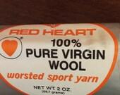 Yarn skein, eggshell worsted sport yarn, eggshell yarn skein, skein of yarn, crochet yarn, knitting yarn, supplies, knitting supplies