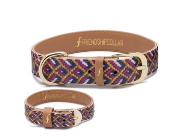 The Mischief Maker - Dog FriendshipCollar and a matching friendship bracelet just for you!