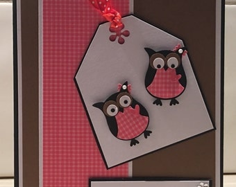 Owl's Mother's Day Card