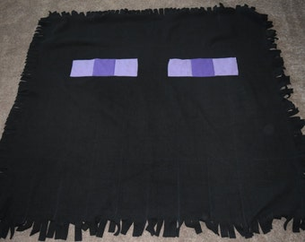 Minecraft Enderman Fleece Blanket