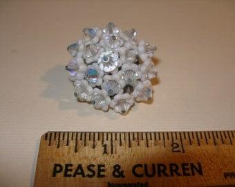 Acryllic and Bead Flower(512)