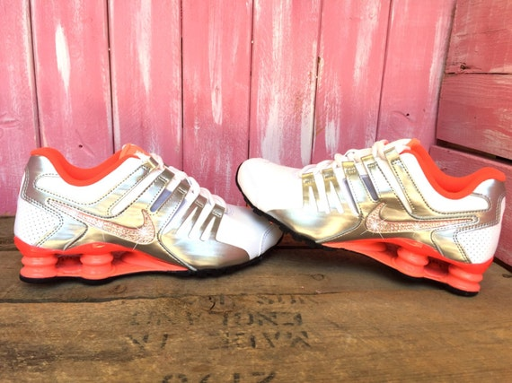 hot sale online 2efa1 6fdbe SALE SIZE 7 Swarovski Nike Shox Current Running by ShopPinkIvy chic