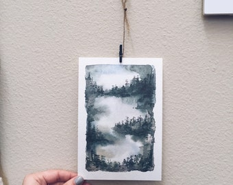In the Trees Print
