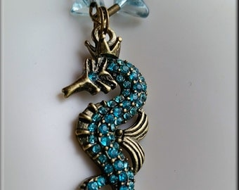 Mystic King Seahorse Necklace