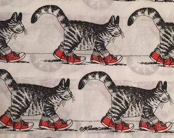 """B Kilban """"cat in sneakers """" pillowcases"""