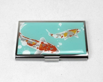 Koi Business Card Case