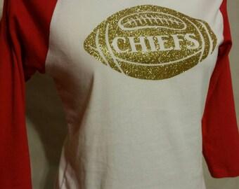 Womens Kansas City CHIEFS football shirt