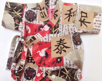 Newborn Kimono Romper, Newborn Kimono Onesie, Newborn Kimono Bodysuit, Newborn Japanese Romper, Newborn Japanese Kimono, Baby Kimono