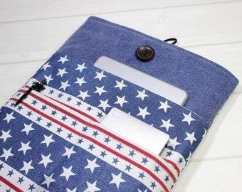 Captain America laptop case, Macbook Air case 11, Macbook sleeve 12, star Macbook case, 12 inch laptop case, New Macbook sleeve, unique gift