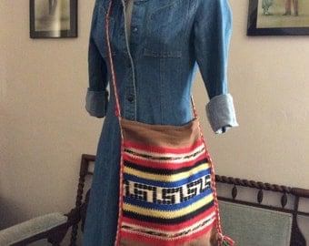 Classic 1970s denim dress.