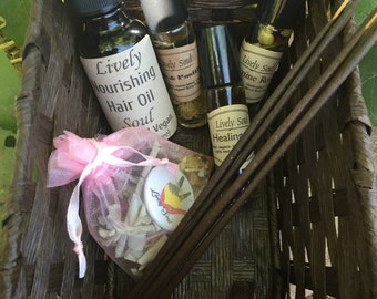 Herbal Theraputic Set