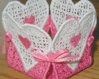 Valentine Lace Machine Embroidery Designs