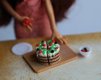 Polymer clay food handcrafted