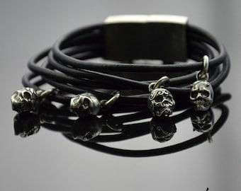 Bracelet Headhunter Silver