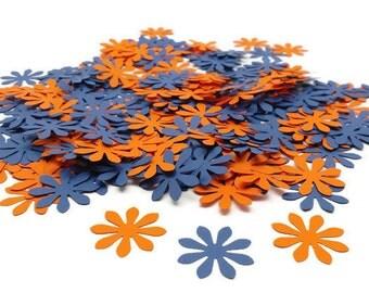 Flower Confetti, Wedding Confetti,  Hand Punched Confetti, Scrapbooking Diecuts, Birthday Party Confetti, 200 Count