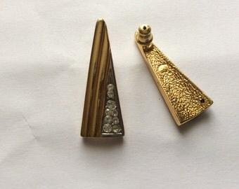 Vintage earrings, gold earrings, Stud Earrings, earrings women's earrings, earrings, earrings, elegant stones