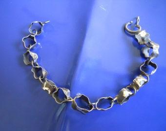Silver bracelet Dark