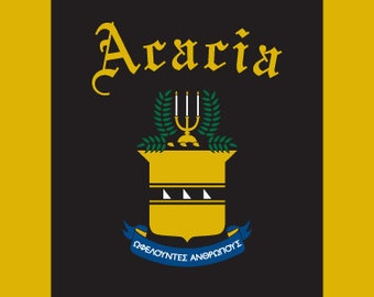 Acadia Flag - 3' X 5' Officially Approved