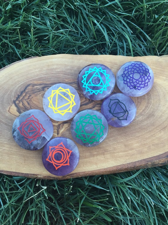 chakra stone set how to use