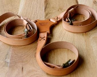 Handmade Leather Suspender, Wedding Suspender, handcrafted suspenders, leather suspenders, men's suspenders